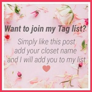 Want to join my tag list?